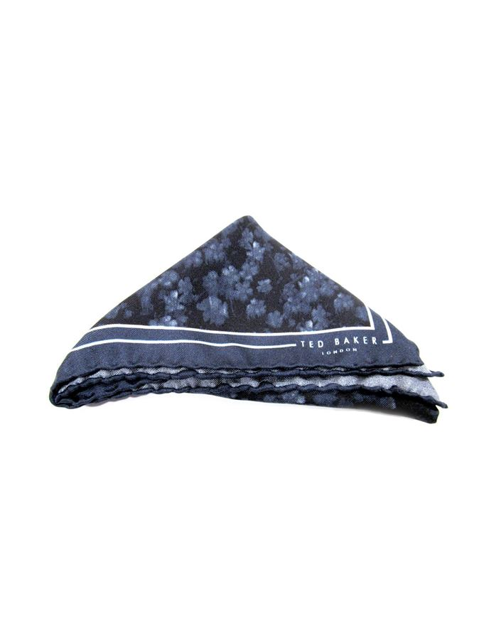 Picture of Ted Baker Blue Pocket Square