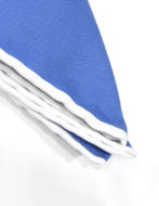 Picture of Hemley Blue Cotton Pocket Square