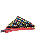 Picture of Hemley Multi-colored Check Pocket Square