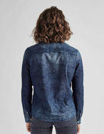 Picture of Pearly King Fine Denim Weave Shirt