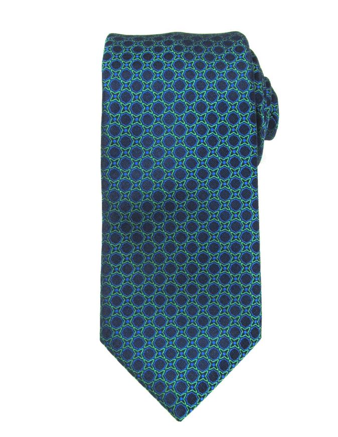Picture of Hemley German Made Patterned Silk Tie