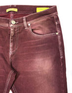 Picture of Versace Jeans Plum Washed Cotton Stretch Denims