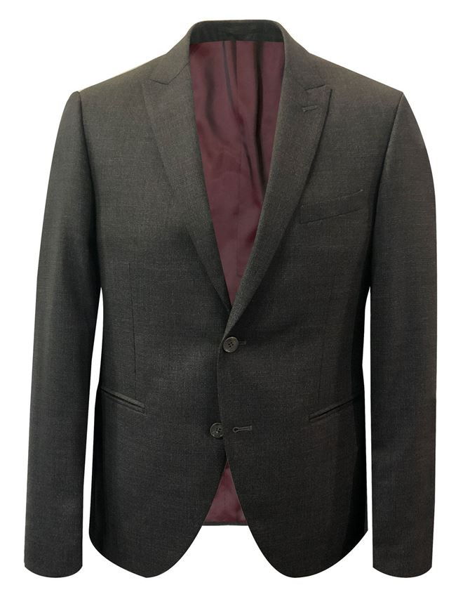Picture of Reporter Charcoal Stretch Slim Suit
