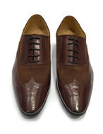 Picture of Cutler Brogue 1/2 Suede Shoes