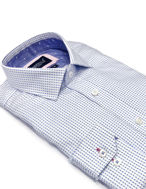 Picture of Brooksfield Shadow Dot Luxe Shirt -White