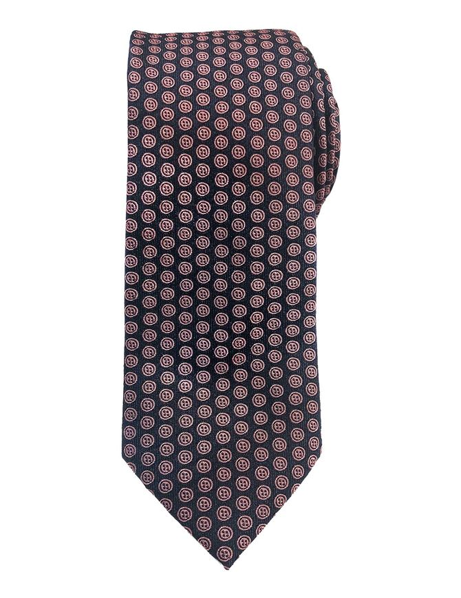 Picture of Ted Baker Pink Button Motif Silk Tie