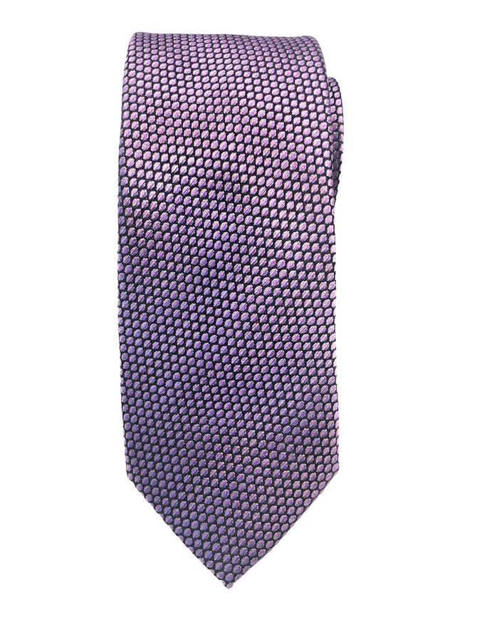 Picture of Ted Baker Purple Scale Pattern Silk Tie