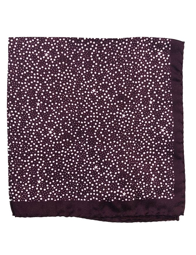 Picture of Ted Baker Star Print Pocket Square