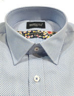 Picture of Brooksfield Dot Dobby Luxe Shirt
