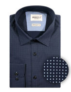 Picture of Brooksfield N-Dot Print Slim Shirt