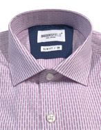 Picture of Brooksfield Pink Line Stripe Slim Shirt