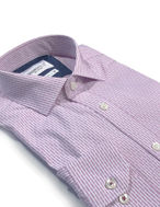 Picture of Brooksfield Pink Line Stripe Slim Shirt