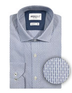 Picture of Brooksfield Blue Line Stripe Slim Shirt