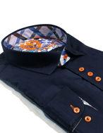 Picture of Au Noir Coronnado Navy Shirt