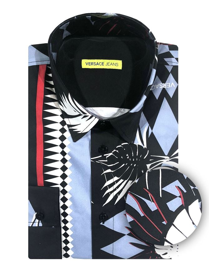 Picture of Versace Jeans Optical Print Shirt