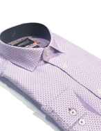 Picture of Brooksfield Purple Flower Dot Luxe Shirt