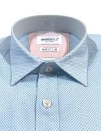 Picture of Brooksfield Aqua Floral Dots Shirt