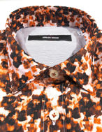 Picture of Osvaldo Trucchi Orange Floral Fashion Shirt