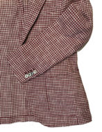 Picture of Reporter Bold Hound Tooth Weave Red Fashion Jacket