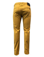 Picture of Reporter Mustard Cotton Stretch Pants