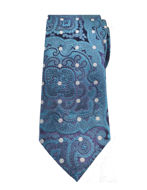 Picture of Ted Baker Floral Polka Dot Silk Tie