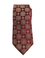 Picture of Ted Baker Tile Jacquard Silk Tie