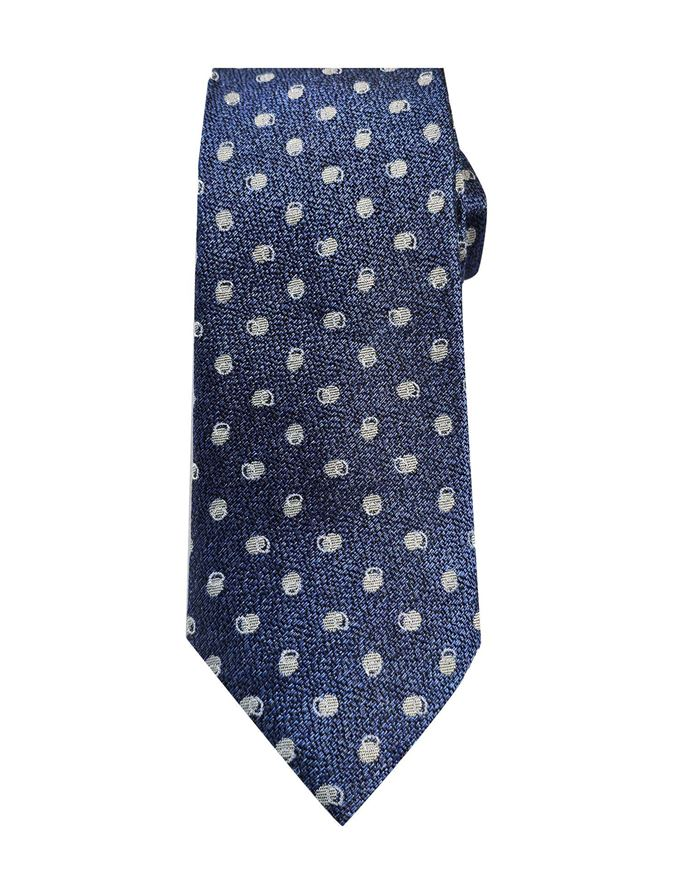 Picture of Ted Baker Circle Spot Silk Tie