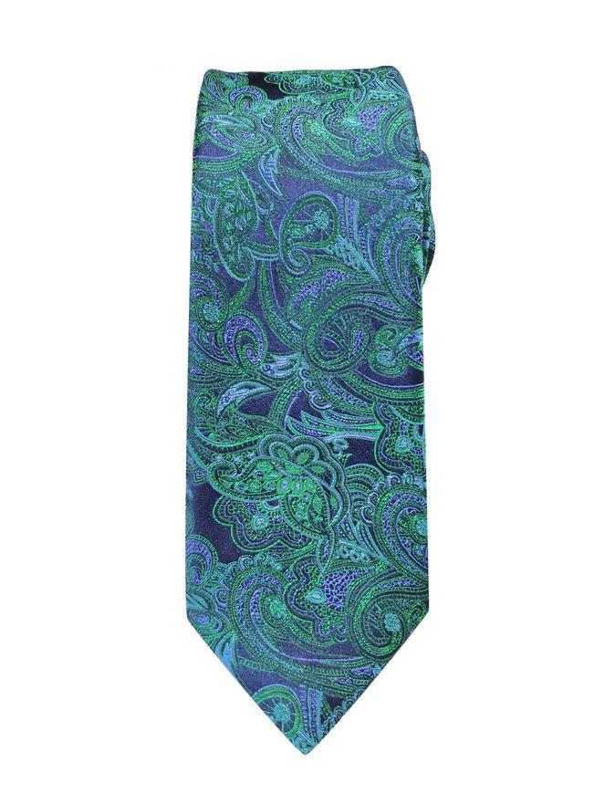 Picture of Hemley German Made Jacquard Paisley Silk Tie