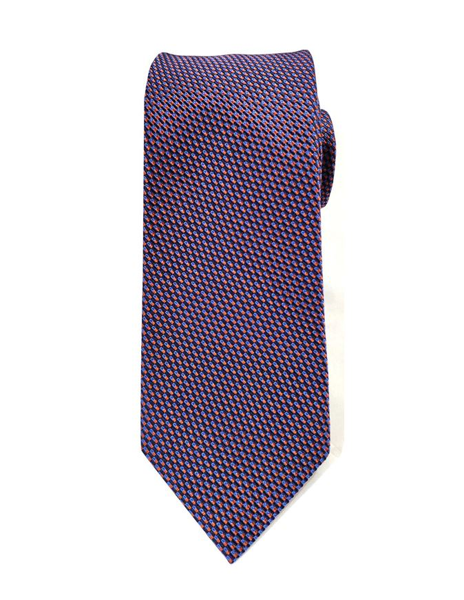 Picture of Hemley German Made Stripe Dobby Silk Tie
