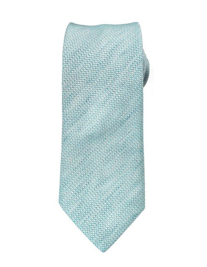 Picture of Hemley German Made Linen Silk Slub Tie