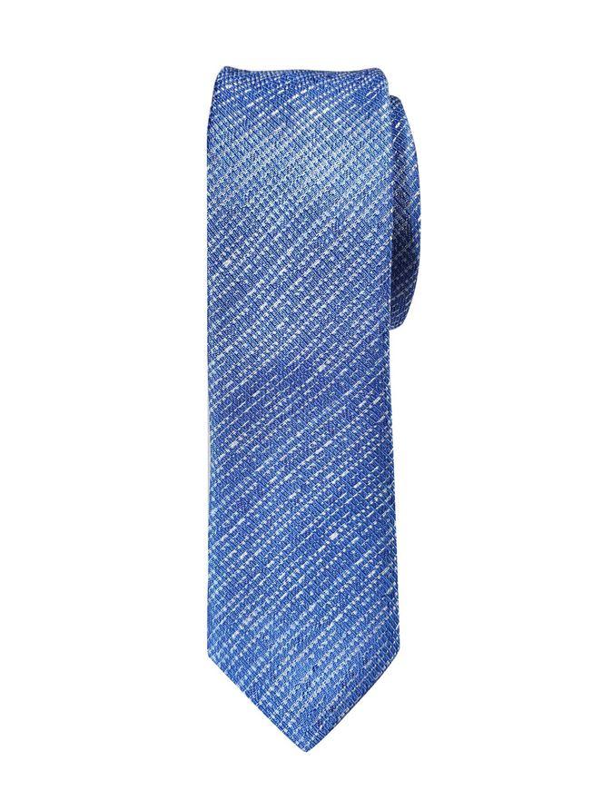 Picture of Hemley German Made Broken Stripe Skinny Silk Tie
