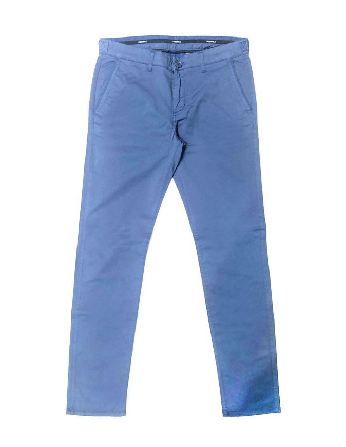 Picture of Lagerfeld Blue Micro Print Pant