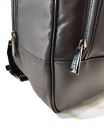 Picture of Versace Collection Leather Laptop Backpack
