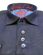 Picture of Au Noir Tomassi Navy Shirt