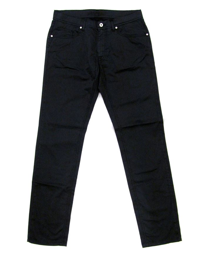 Picture of Lagerfeld Cotton Trousers in Navy