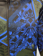 Picture of Versace Jeans Duchess Print Bomber