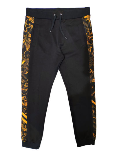 Picture of Versace Baroque Print Slim Trackpants