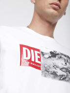 Picture of Diesel White T-Just T-shirt