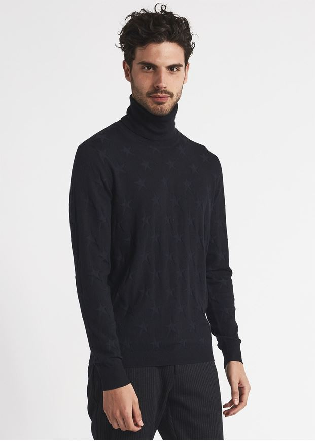 Picture of Gaudi Turtle Neck Star Knit