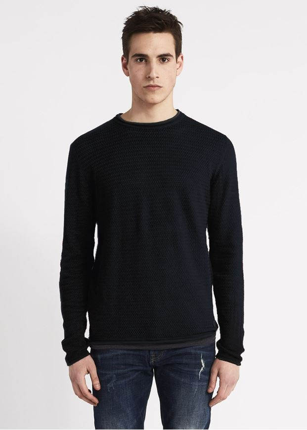 Picture of Gaudi Jacquard Textured Knit