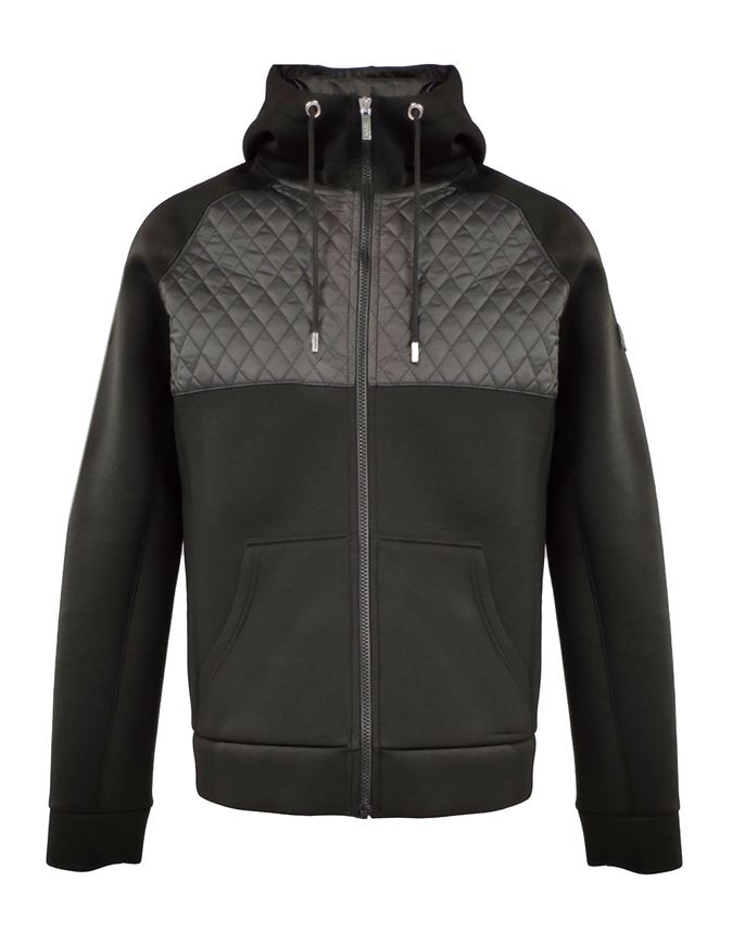 Picture of Karl Lagerfeld Neoprene Sweat Hood Jacket