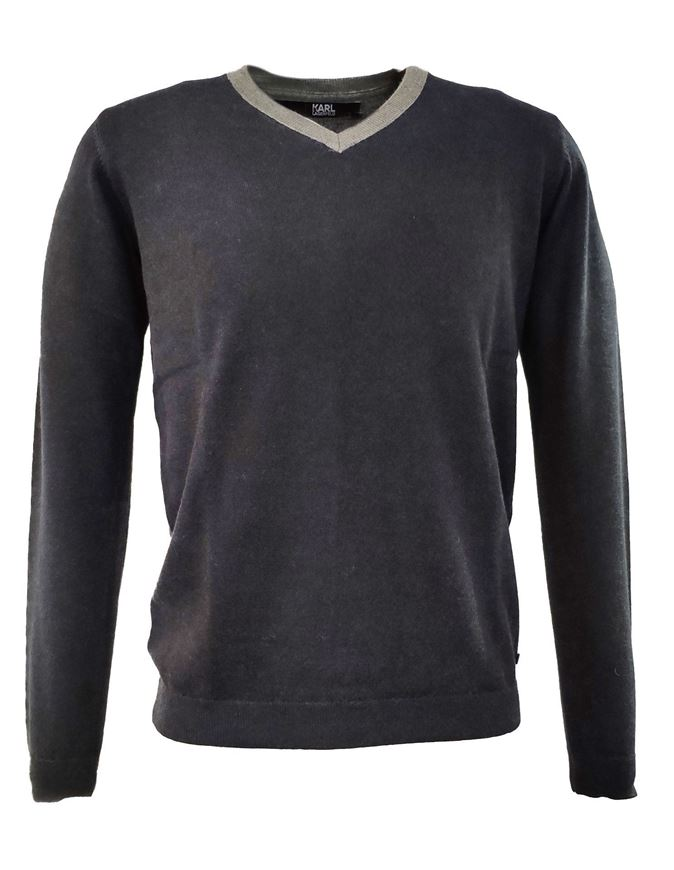 Picture of Karl Lagerfeld Merino Wool V-Knit