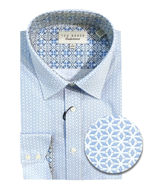 Picture of Ted Baker Blue Tile Print Shirt