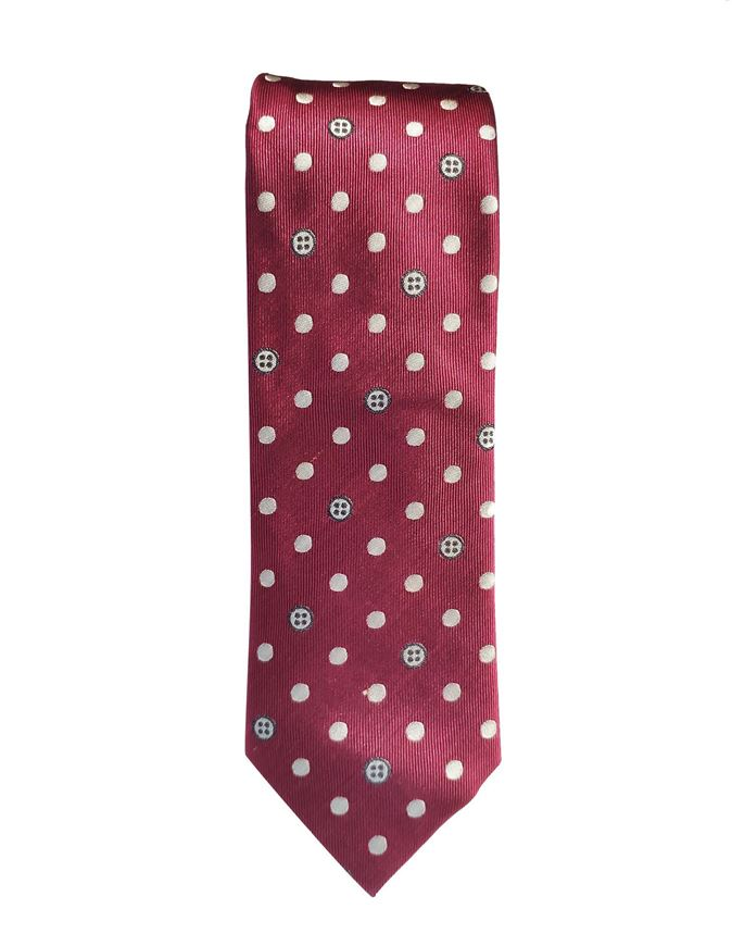 Picture of Ted Baker Buttons Silk Tie