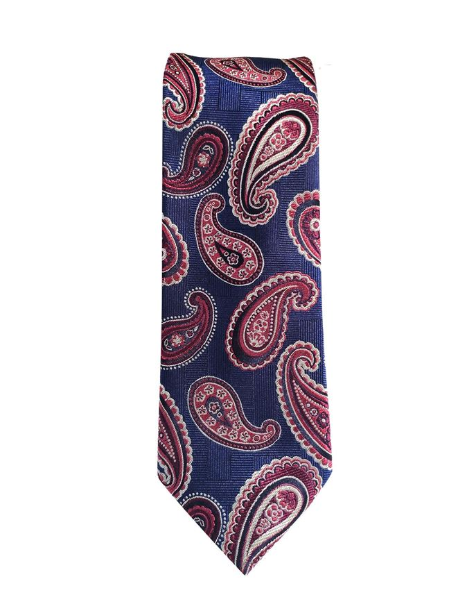 Picture of Ted Baker Blue Paisley Silk Tie