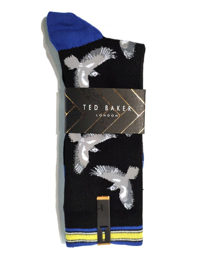 Picture of Ted Baker Bird Fine Cotton Socks