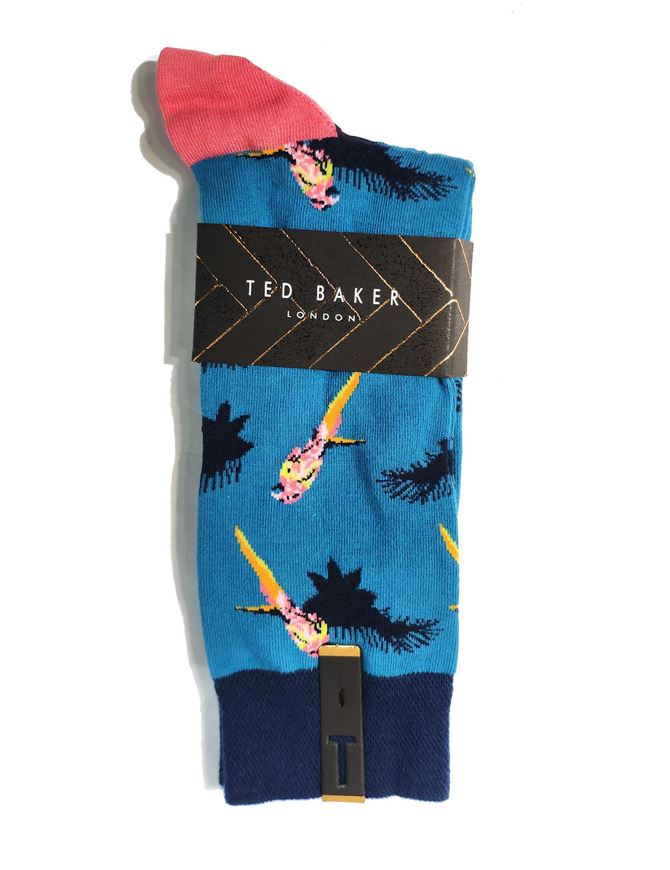 Picture of Ted Baker Parrot Cotton Socks
