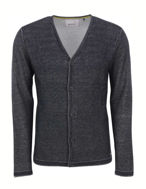 Picture of No Excess Knitted Cardigan in Black