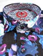 Picture of Au Noir Puccini Floral Shirt