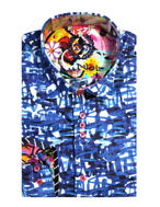 Picture of Au Noir Modesto Blue Shirt